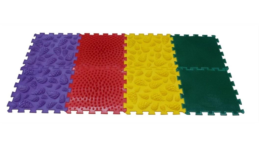 Купить Массажный коврик ОРТО ПАЗЛ, Микс Лес , ОртоПазл, Развивающие коврики и центры