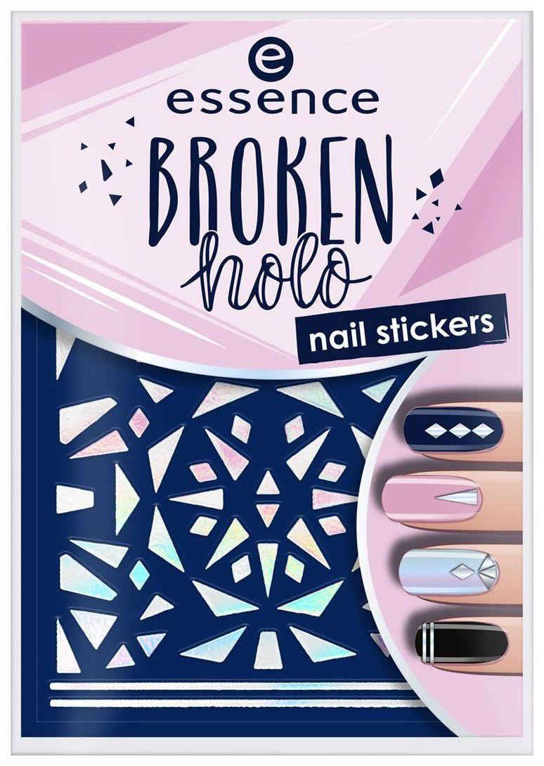 Наклейка для ногтей Essence 12 Broken holo