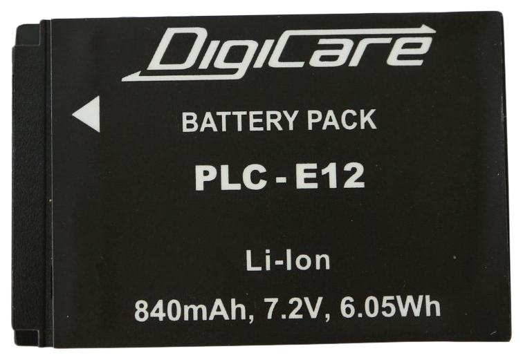 Аккумулятор для цифрового фотоаппарата DigiCare PLC-E12