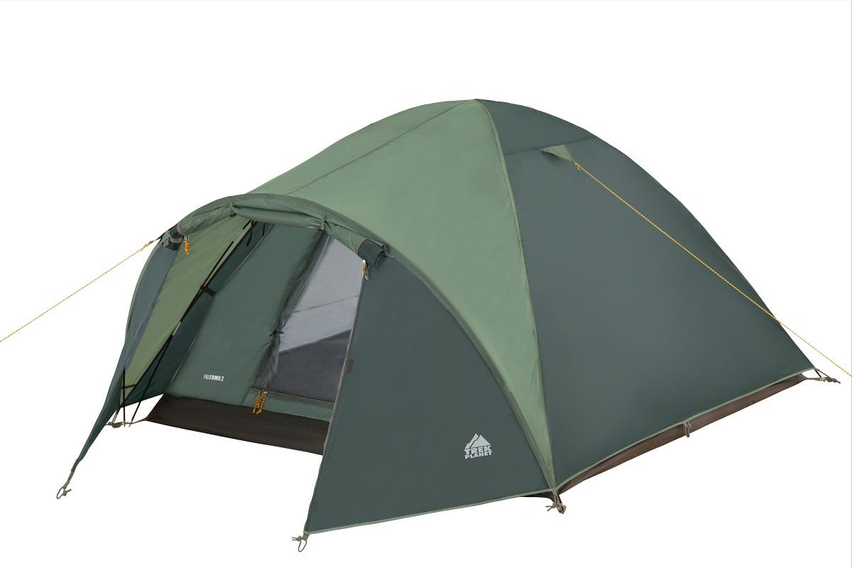 Палатка Trek Planet Palermo двухместная зеленая