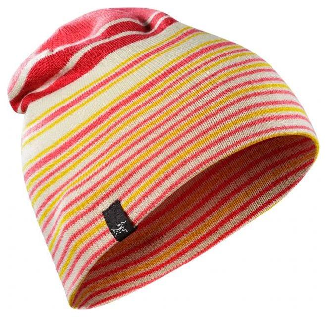 Шапка мужская Arcteryx Rolling Stripe розовая