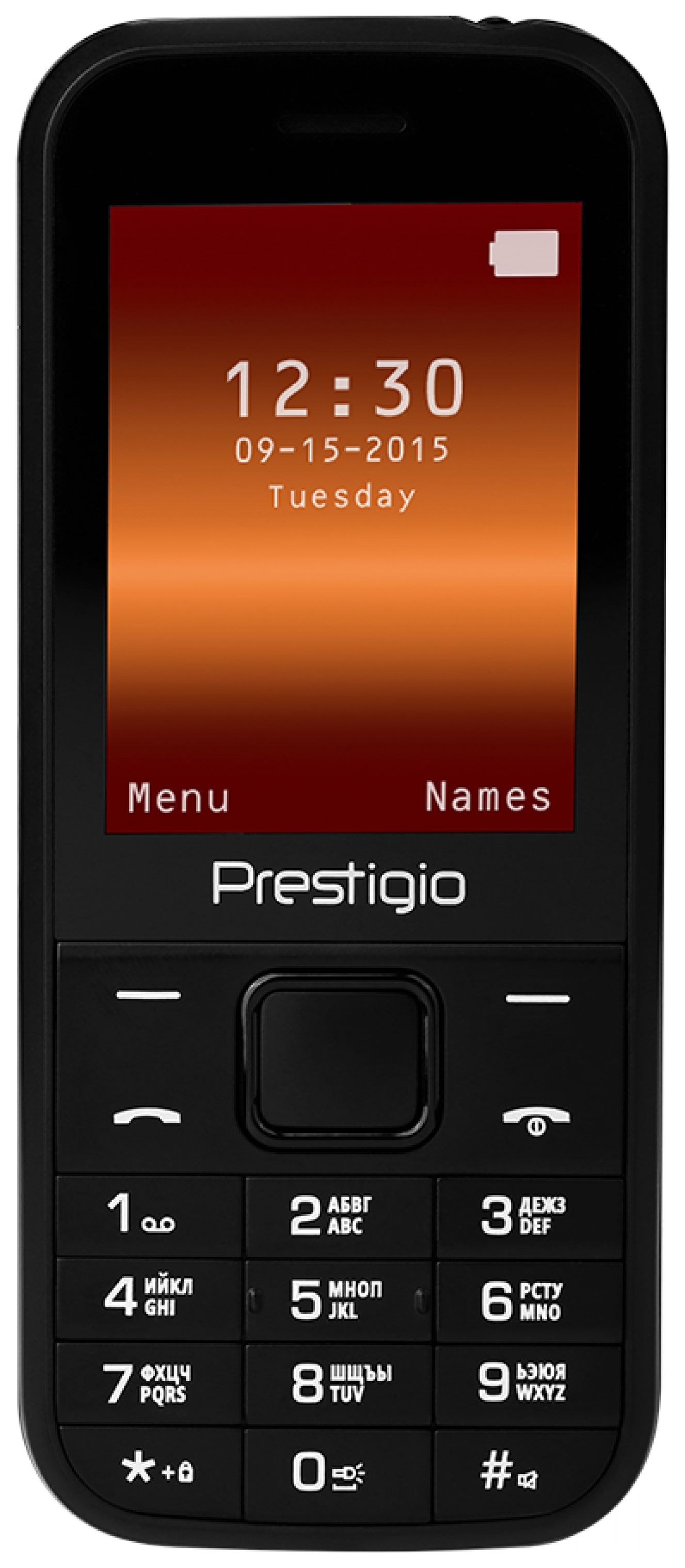 Мобильный телефон Prestigio Wize G1 Black