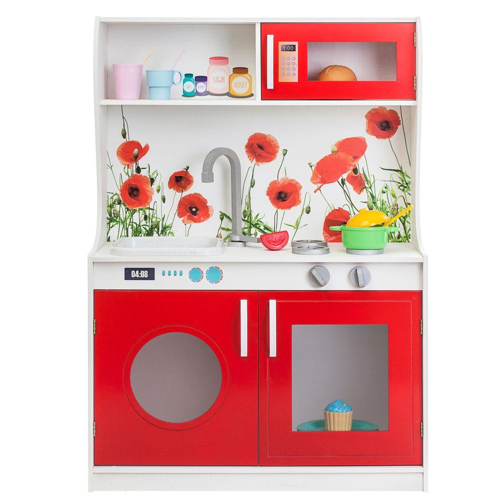 Купить Игрушечные кухни, Игрушечная кухня Paremo Фиори Россо Мини, Детская кухня