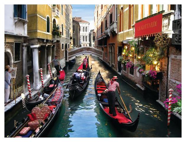 Объемные 3D-пазлы Prime 3D Венеция 500 деталей