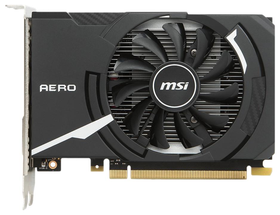 Видеокарта MSI nVidia GeForce GT 1030 (GT 1030 AERO ITX 2G OC) фото