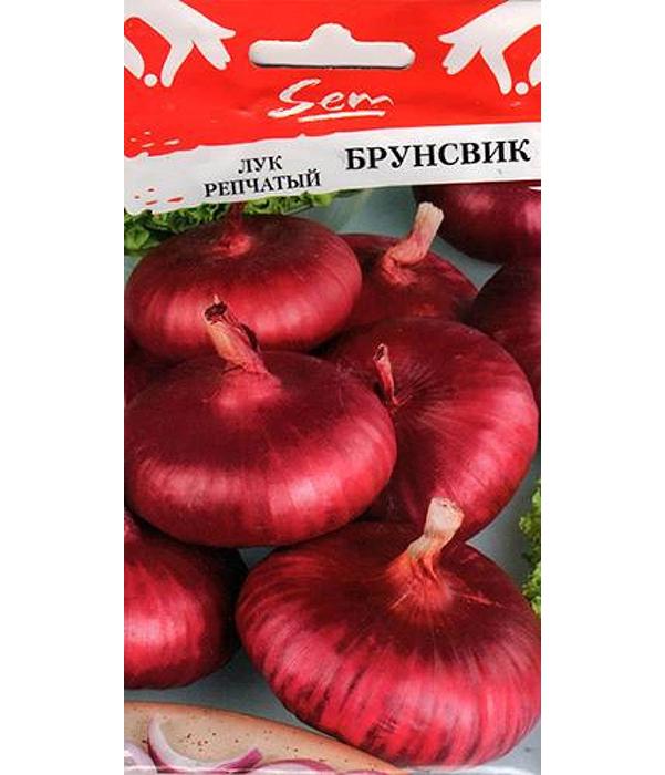 Семена Лук репчатый Брунсвик, 1 г, Русский огород фото