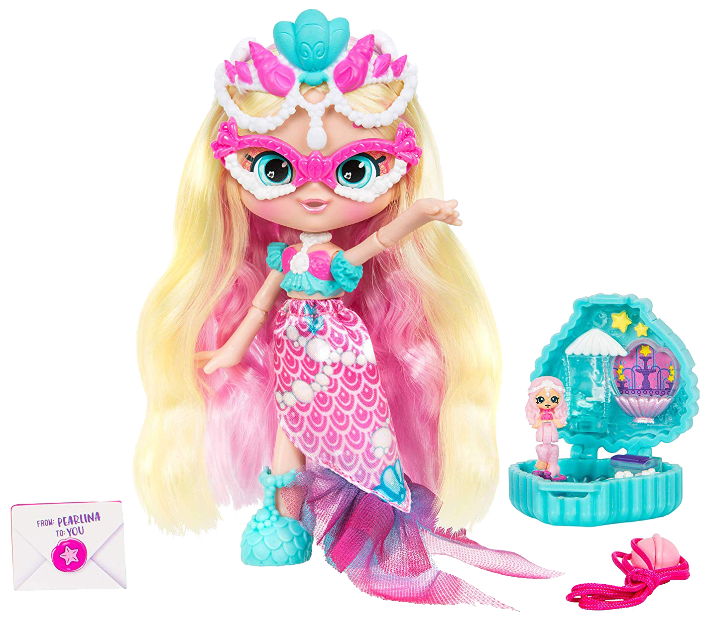 Кукла MOOSE Lil' Secrets Shoppies - Жемчужная Русалка