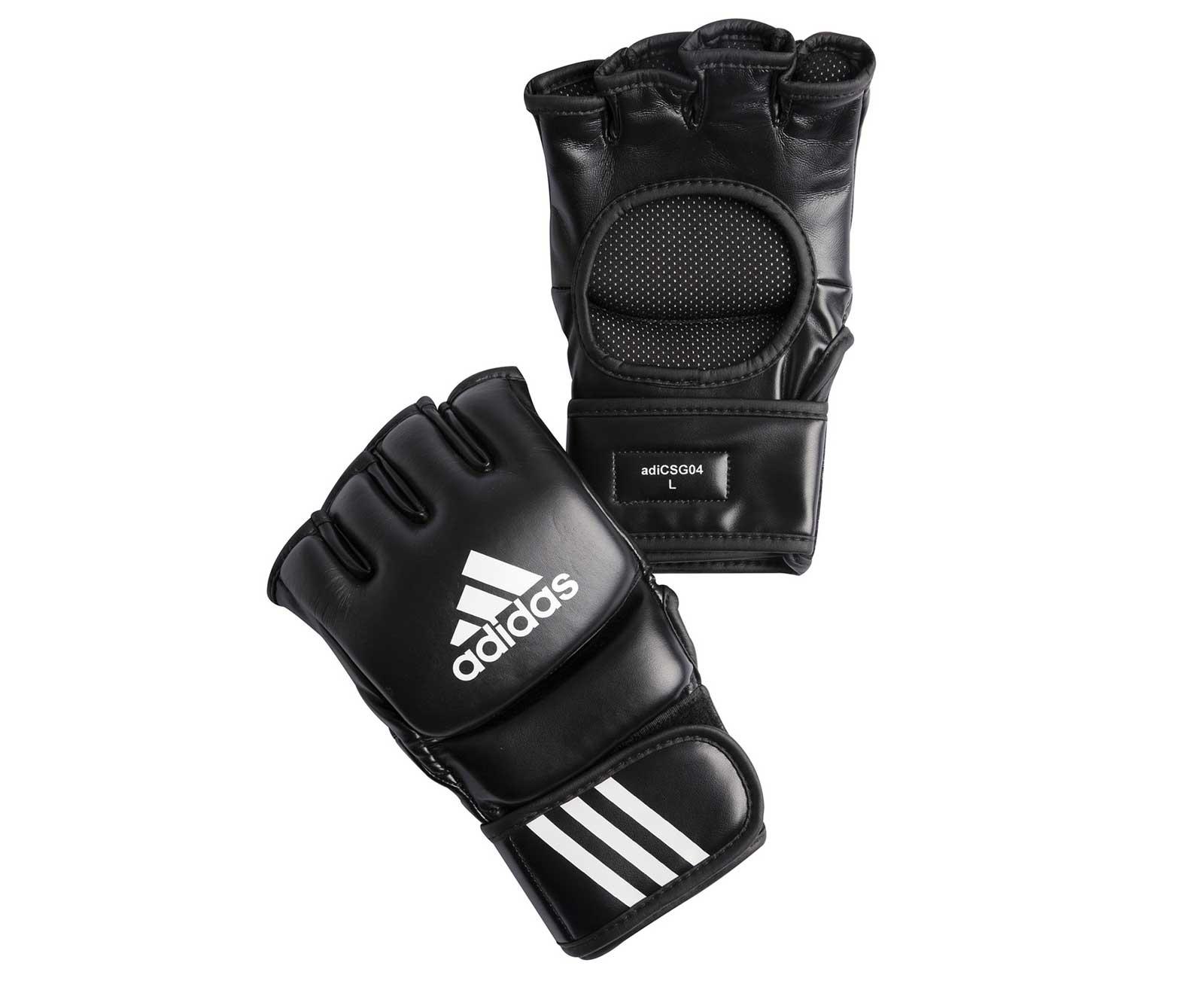 Перчатки для смешанных единоборств Adidas Ultimate Fight черные L