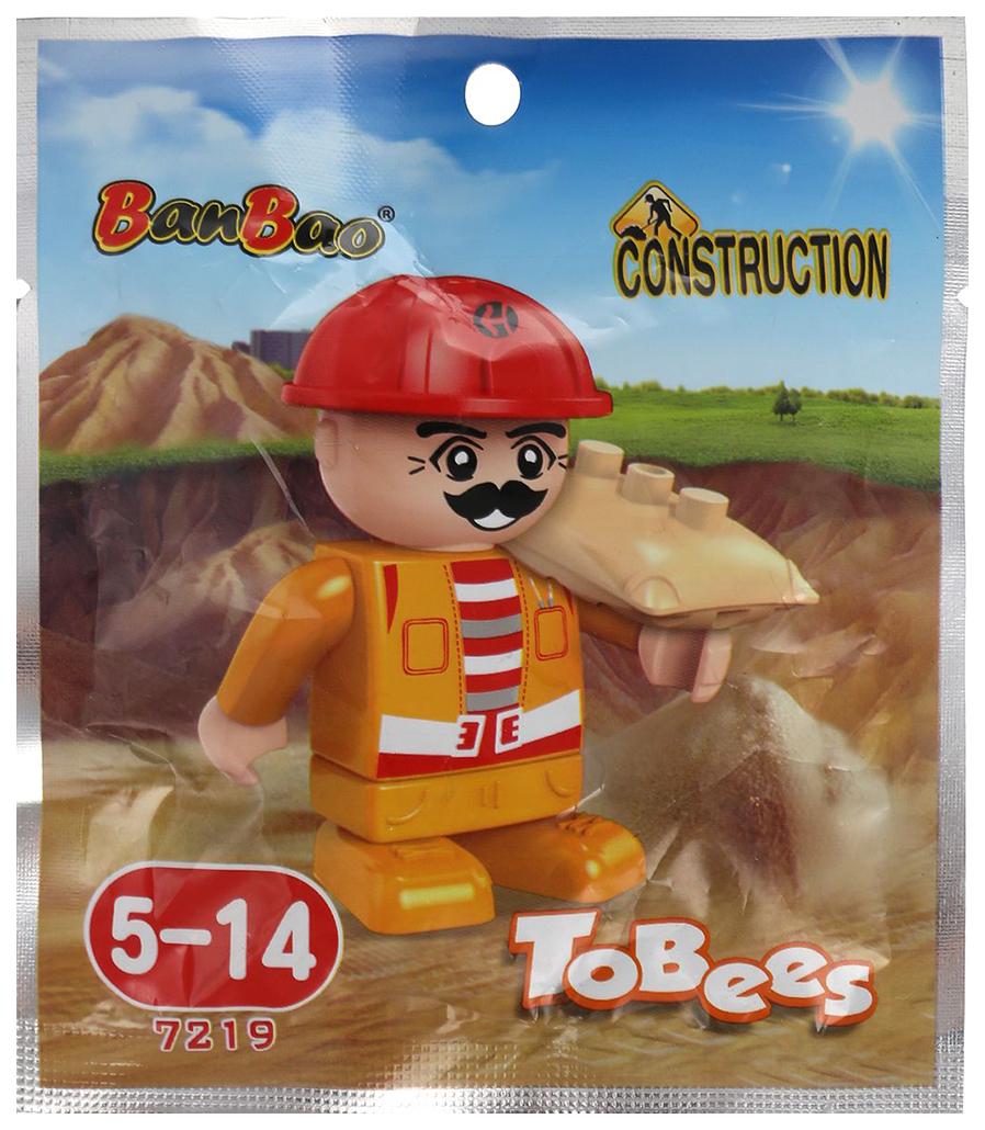 Купить Конструктор пластиковый BanBao Фигурка Tobees 8093(7216-7228), Конструкторы пластмассовые