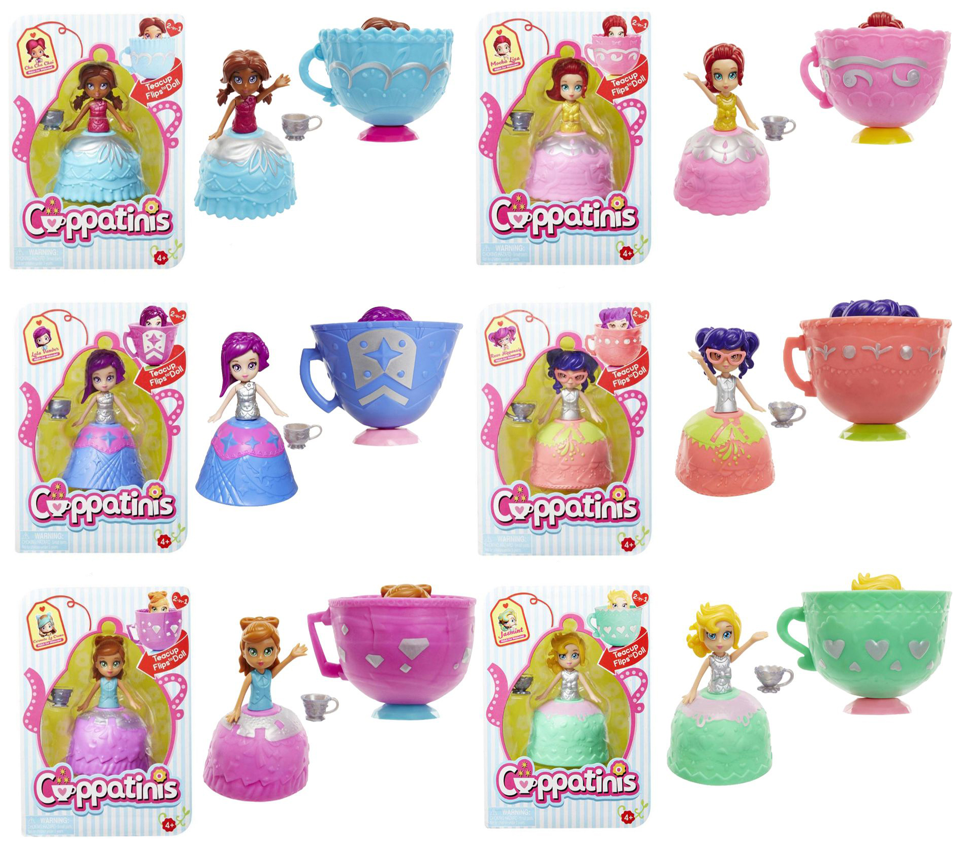 Кукла 1TOY Cuppatinis т10609