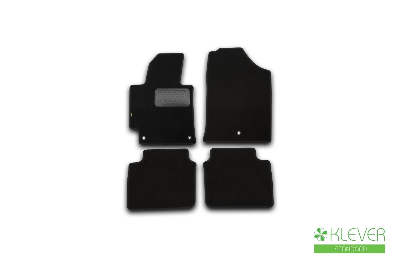 Коврики в салон Klever Standard для HYUNDAI Elantra 2014-2016, 4 шт. текстиль