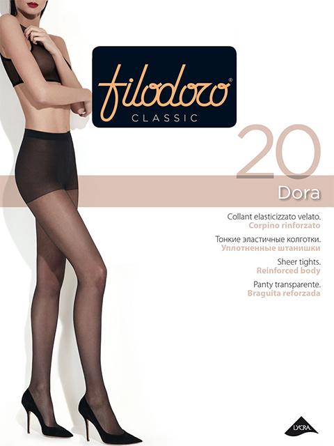 Колготки Filodoro Classic DORA 20/Nero/5 (XL), Dora