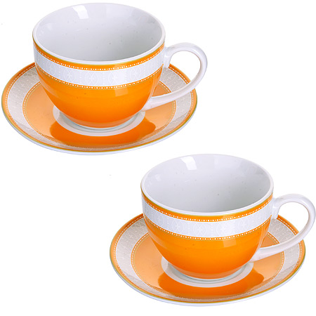 Чайный сервиз LORAINE розовая 28641 2 пер.