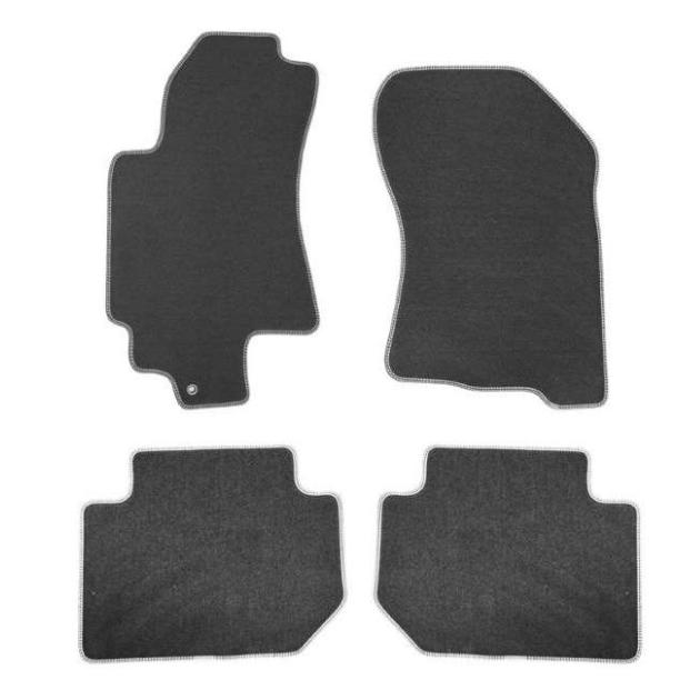 Коврики в салон Klever Premium для TOYOTA Highlander 2010-2013, 5 мест, 4 шт. текстиль