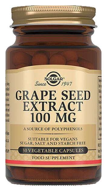 Экстракт виноградных косточек Solgar 30 капсул
