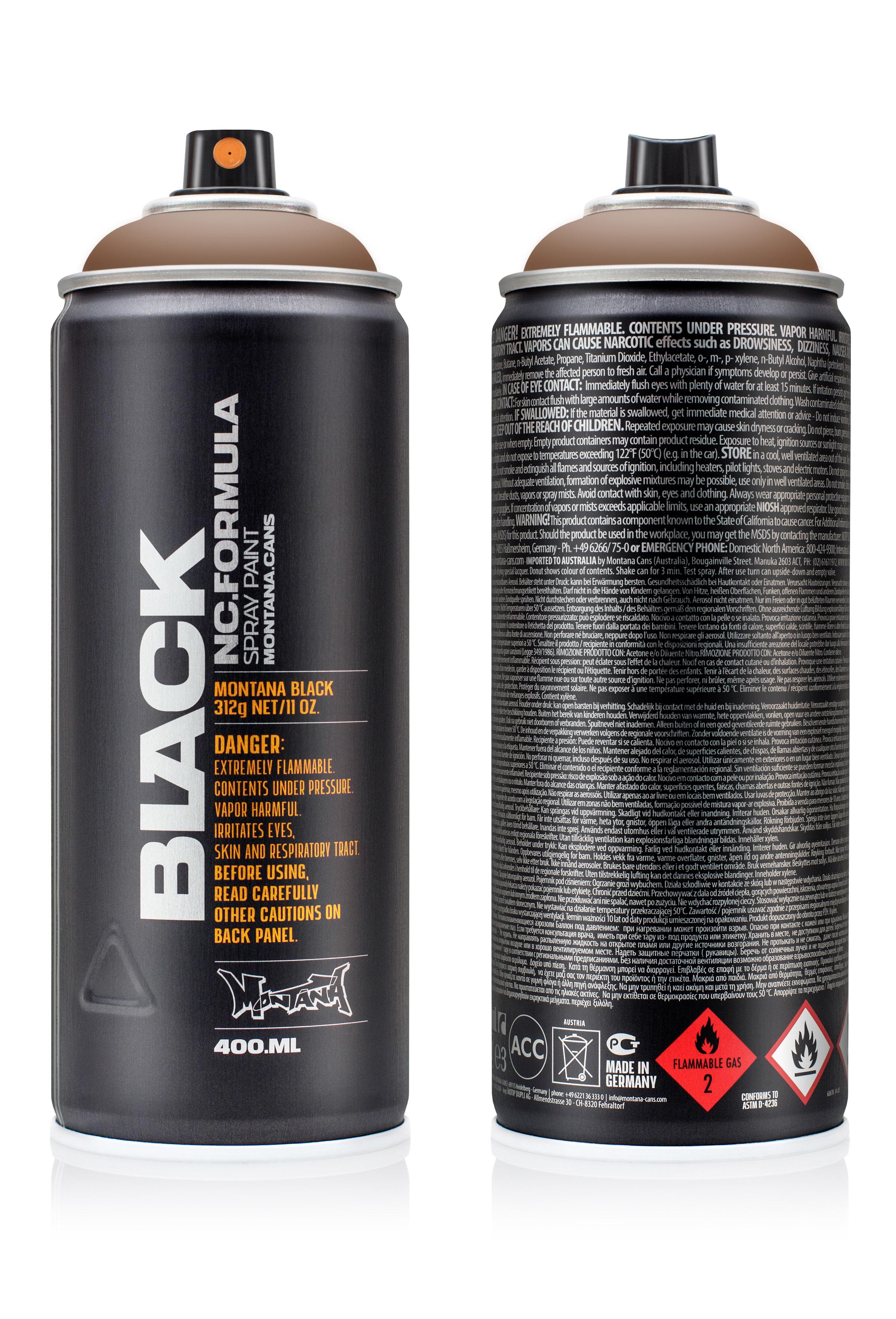 Аэрозольная краска Montana Black Chocolate 400 мл