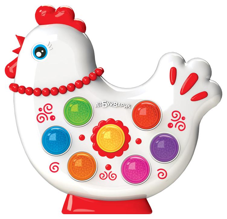 Интерактивная игрушка Азбукварик Веселушки Курочка