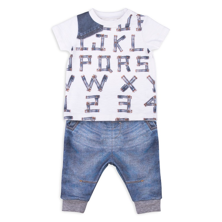 Комплект одежды Папитто для мальчика Fashion Jeans 510-04 синий р.22-68