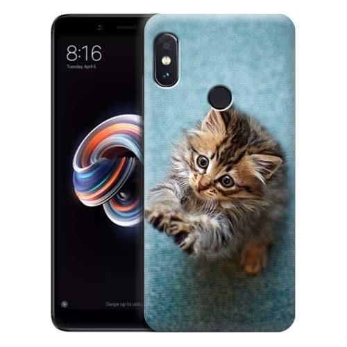 Чехол Gosso Cases для Xiaomi Redmi Note 5 «Котёнок на голубом»