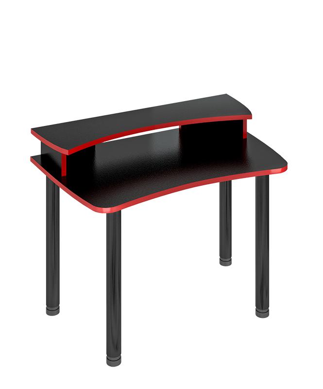 Компьютерный стол в комплекте Мэрдэс СКЛ-Софт120МО+НКИЛ120 120x75x94,5, чёрный фото
