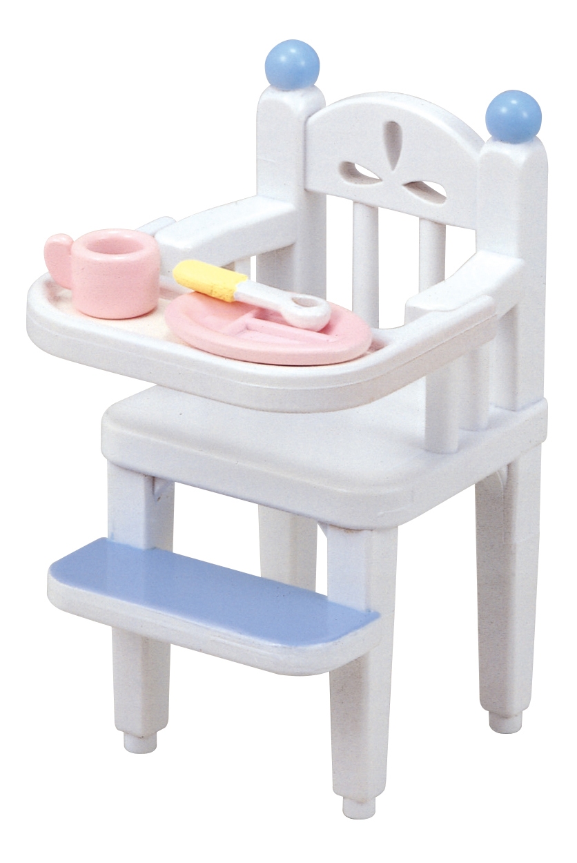 Купить Игровой набор sylvanian families стульчик для кормления малыша,