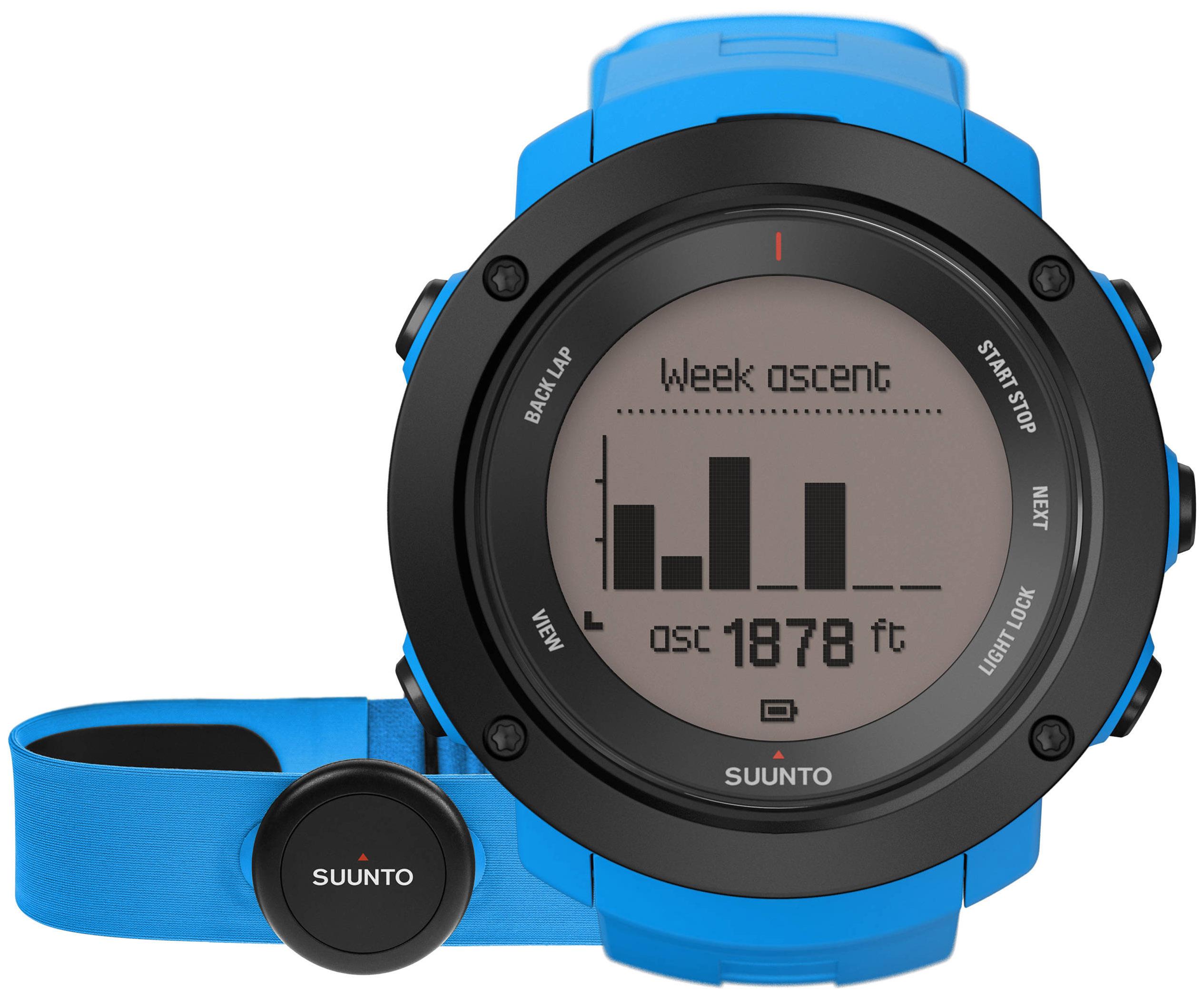 Смарт часы Suunto Ambit3 Vertical HR голубые/черные