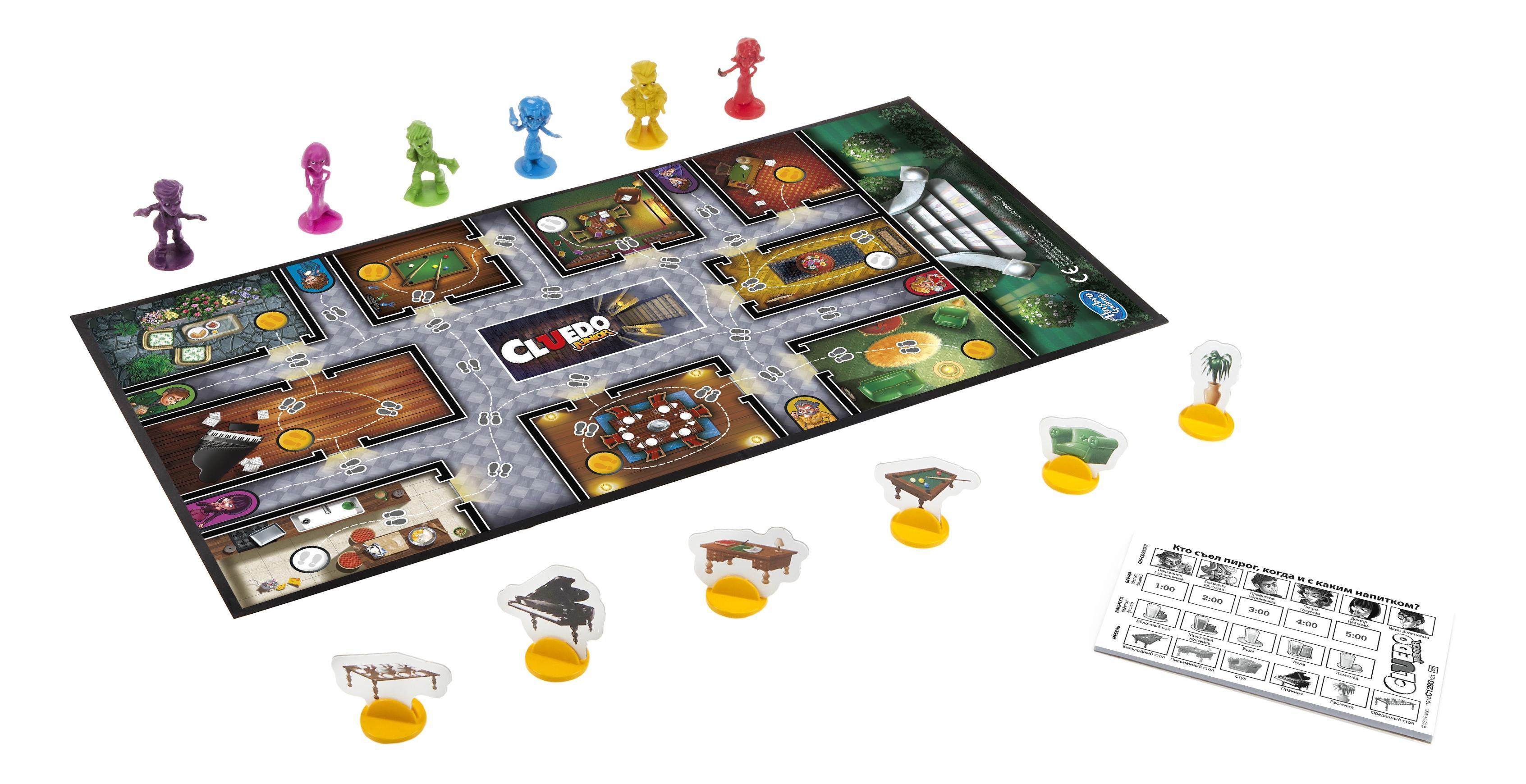 Семейная настольная игра games c1293, Hasbro Games, Семейные настольные игры  - купить со скидкой
