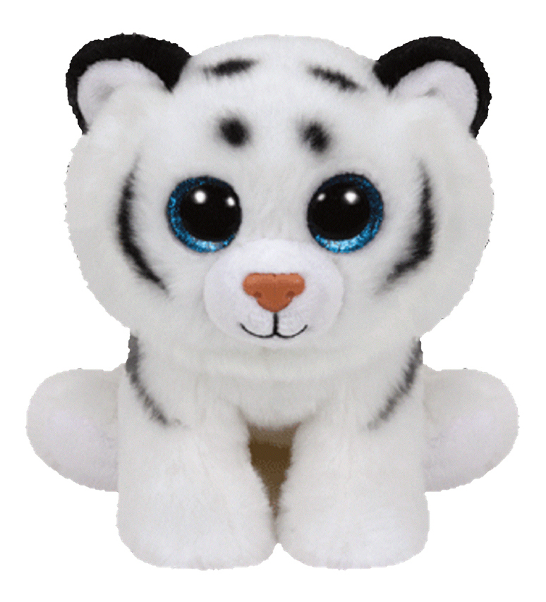 Купить Beanie Babies Тигренок (белый) Tundra, 15 см, Мягкая игрушка TY Beanie Babies Тигренок (белый) Tundra 20 см, Мягкие игрушки животные
