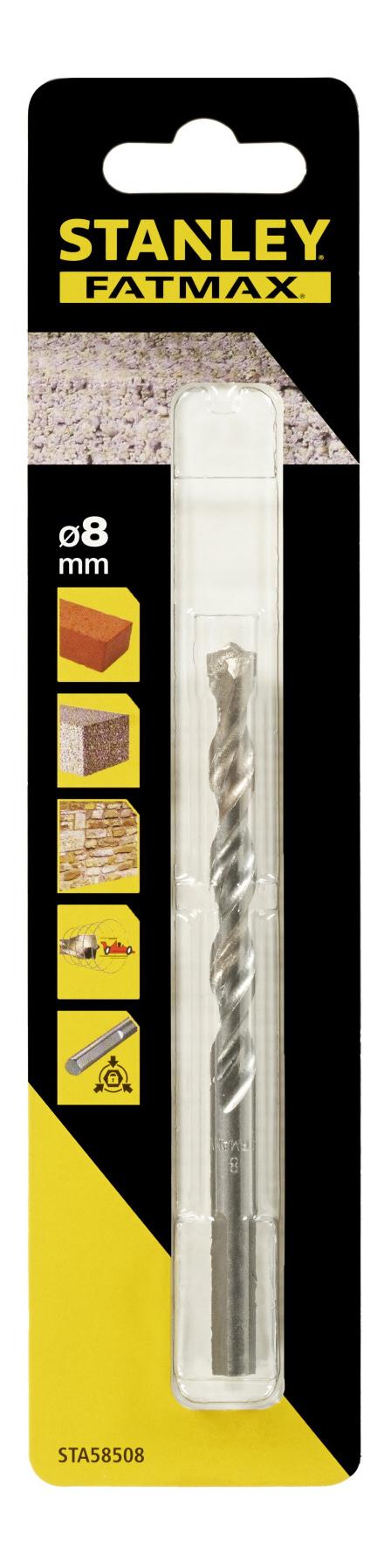 Сверло по бетону/камню для дрелей, шуруповертов STANLEY