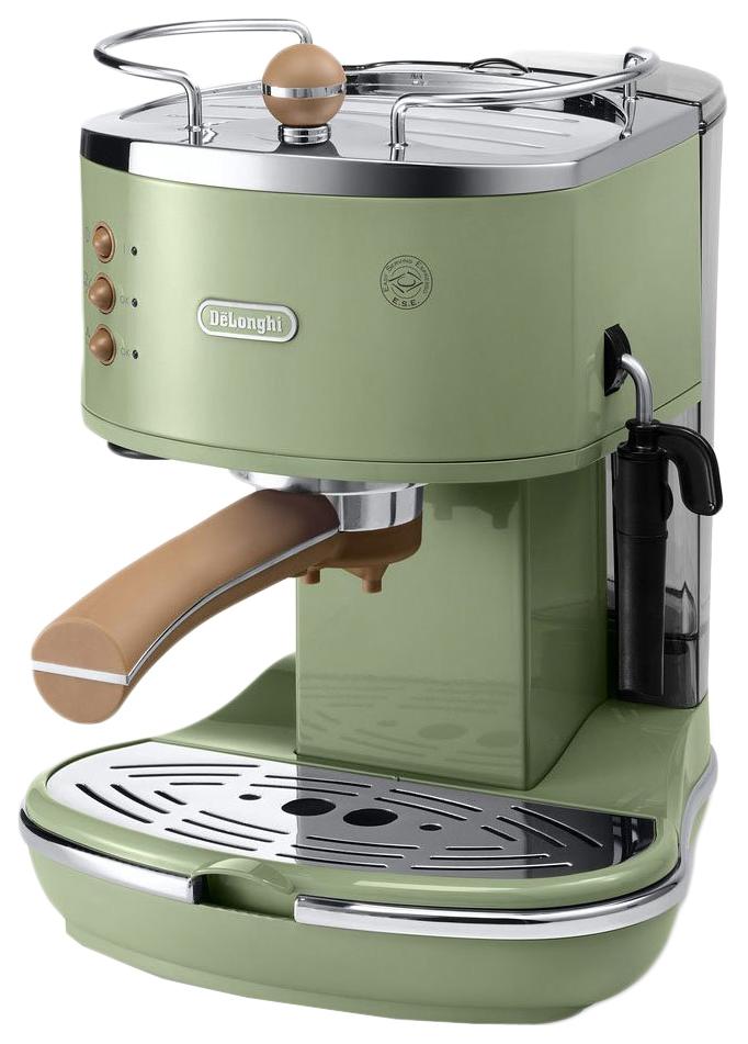 Рожковая кофеварка DeLonghi Icona Vintage ECOV 311.GR