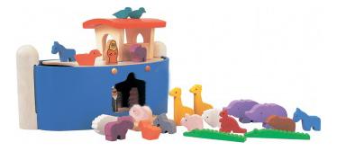 Купить Деревянная игрушка для малышей PlanToys Ноев ковчег , Развивающие игрушки