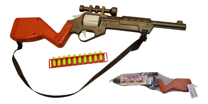 Купить Игрушечное оружие Форма Винтовка c оптическим прицелом, Стрелковое игрушечное оружие