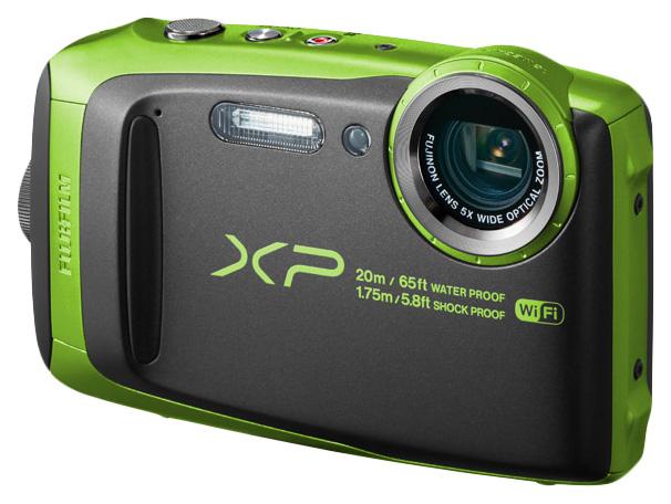 Фотоаппарат цифровой компактный Fujifilm FINEPIX XP120 Green