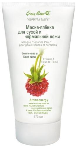 Маска пленка для сухой и нормальной кожи GREEN
