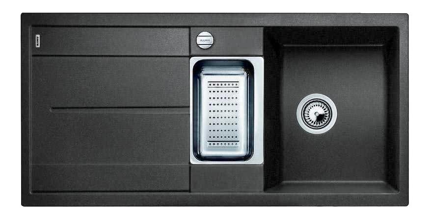 Мойка для кухни гранитная Blanco METRA 6 S 513053 черный