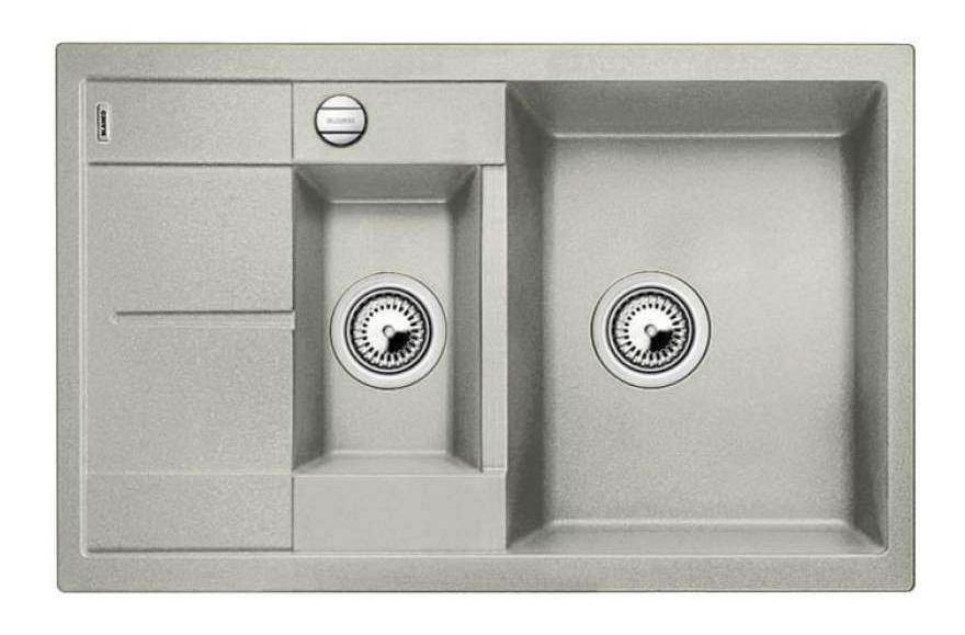 Мойка для кухни гранитная Blanco METRA 6 S Compact 520576 жемчужный