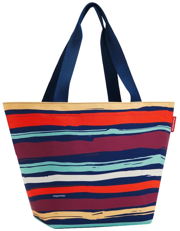 Сумка хозяйственная Reisenthel Shopper M Artist stripes ZS3058