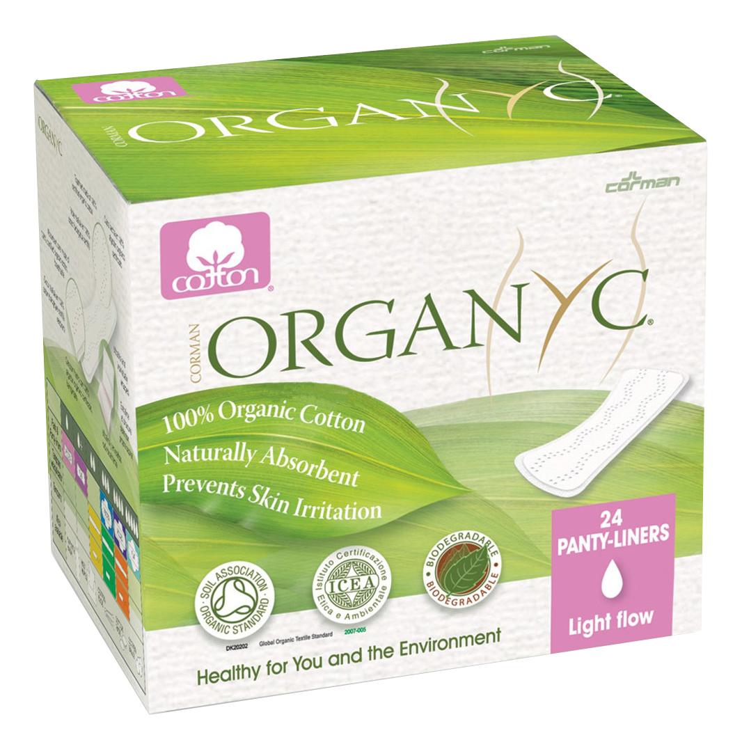 Прокладки Organyc Ежедневные в индивидуальной упаковке 24 шт. фото