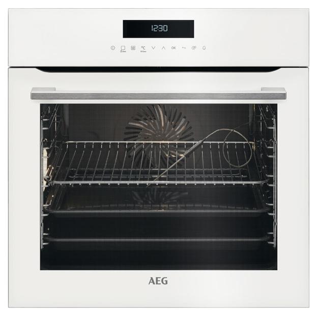 Встраиваемый электрический духовой шкаф AEG BCR742350W White