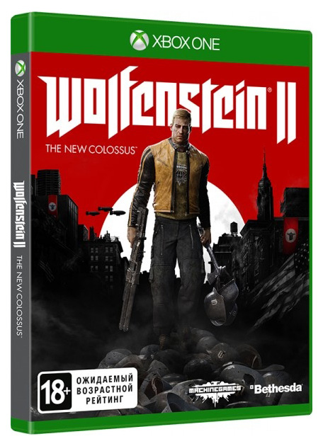 Игра Wolfenstein II: The New Colossus для Xbox One Bethesda