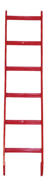 Лестница для птиц Triol, Акрил, 6x23см BR3