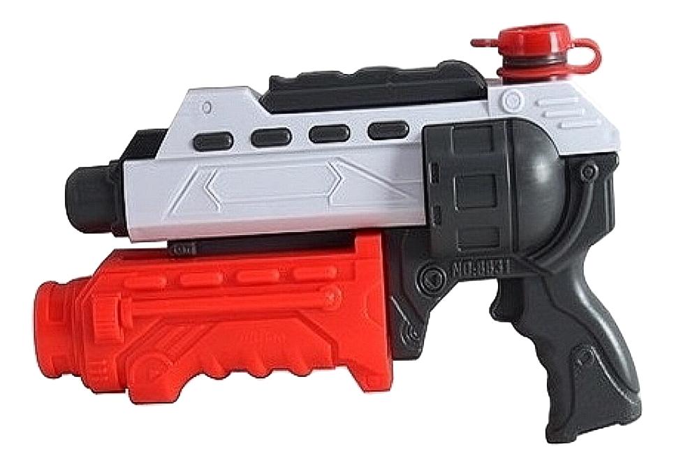 Водное оружие 1TOY Т59454 Аквамания, водное пистолет, помповый, 32 см