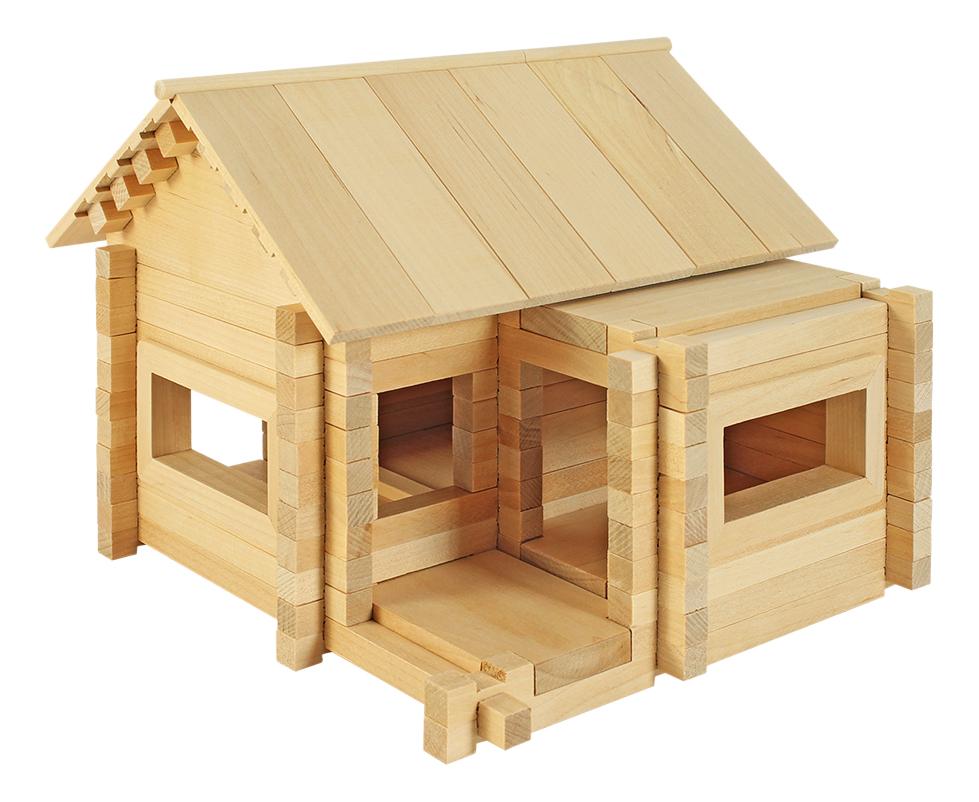 Конструктор деревянный Пелси Ниф-Ниф изобретатель