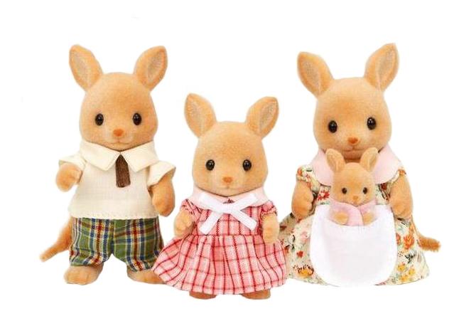 Купить Семья кенгуру, Игровой набор Sylvanian Families EPOCH Sylvanian Families Семья кенгуру,