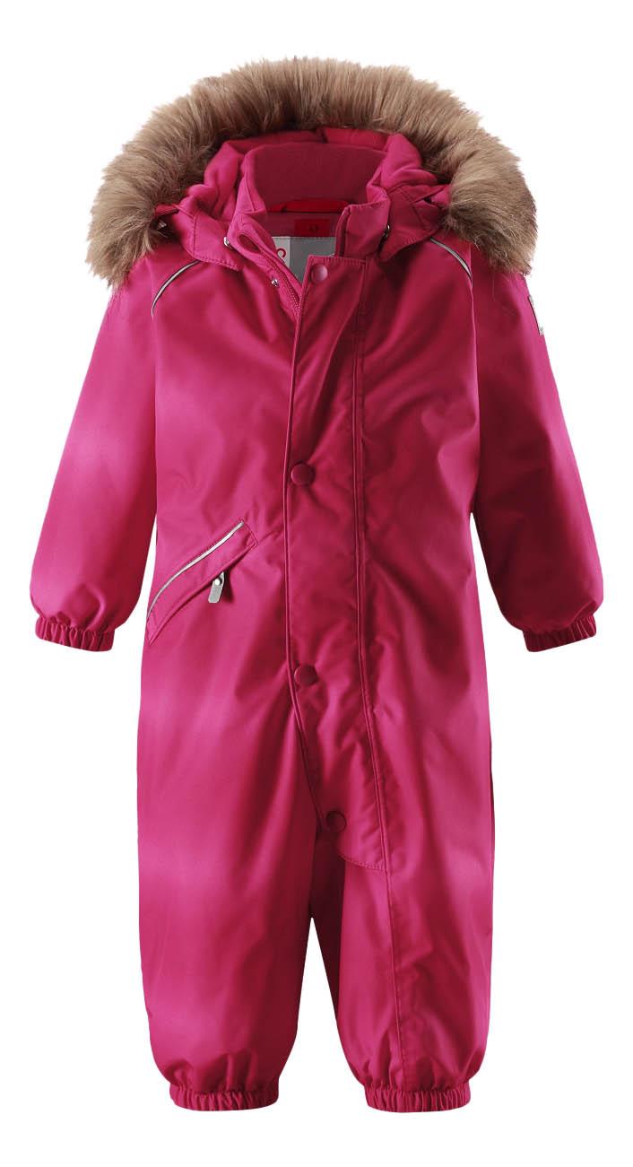 Купить 510267, Комбинезон Reima Reimatec winter overall Lappi розовый р.74, Детские комбинезоны зимние