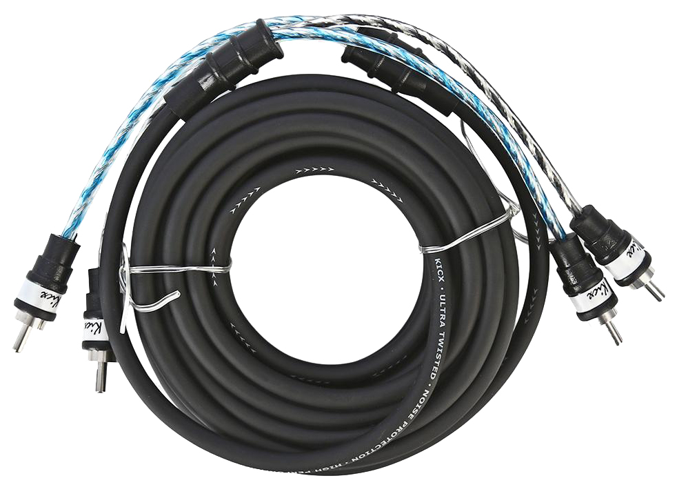 Кабель автомобильный KICX межблочный кабель MTR 25