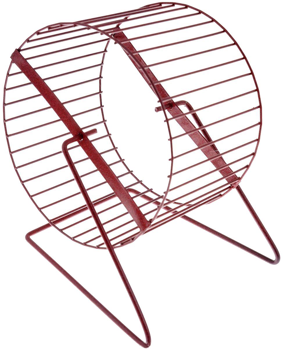 Беговое колесо для хомяков, мышей ZooMark металл,