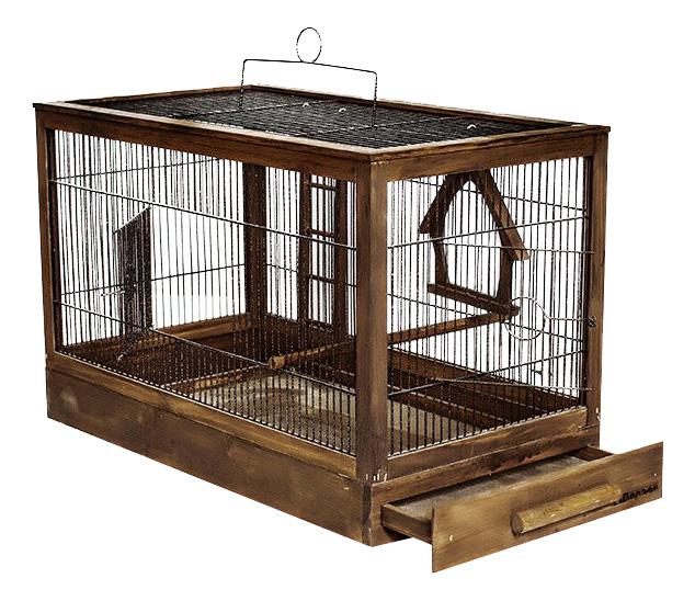 Клетка для птиц ZooM 47,5x27x32 8760пал