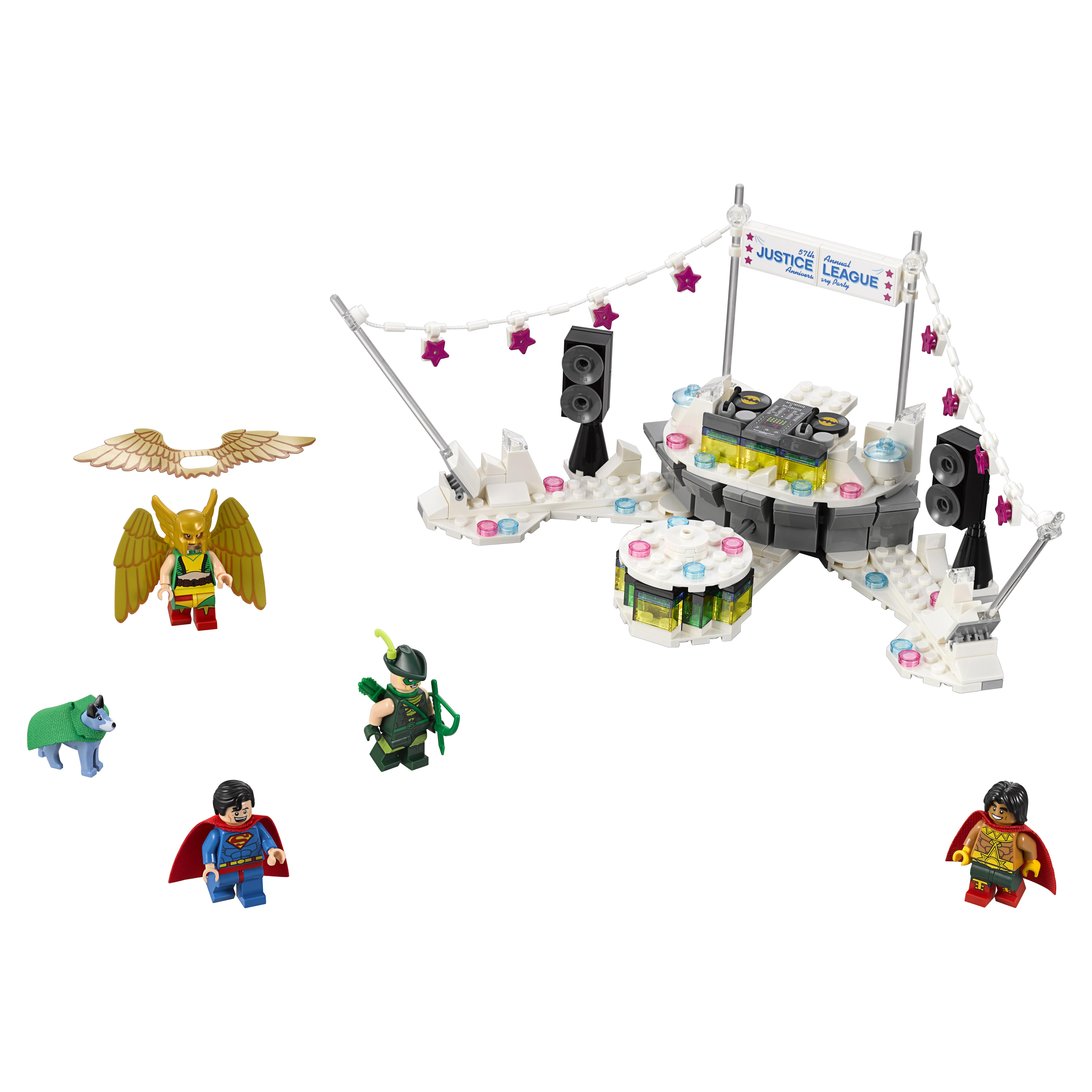Купить Конструктор lego batman movie вечеринка лиги справедливости (70919), Конструктор LEGO Batman Movie Вечеринка Лиги Справедливости (70919)