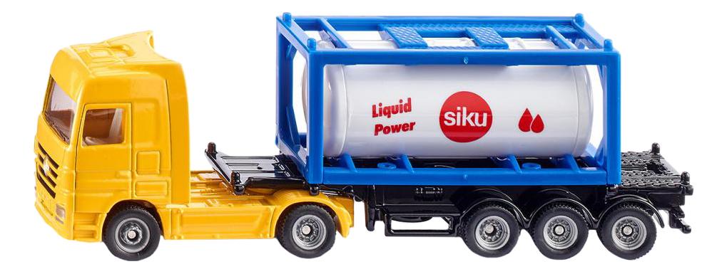Купить Тягач с контейнером-цистерной , Тягач с контейнером-цистерной Siku 1795 1:87, Спецслужбы